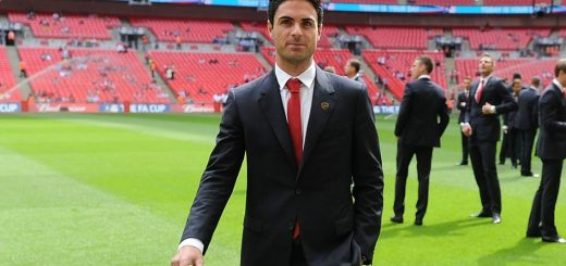 Mikel Arteta at Arsenal